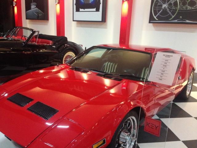 Pantera - 1972 De Tomaso İtalyan araba markası Modena'da 1959 yılında kuruldu.